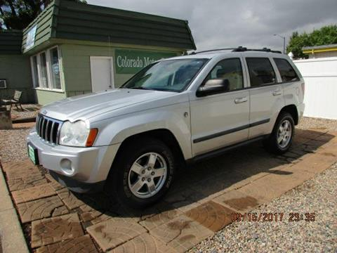 2007 Jeep Grand Cherokee for sale at Colorado Motor Car Company in Fort Collins CO