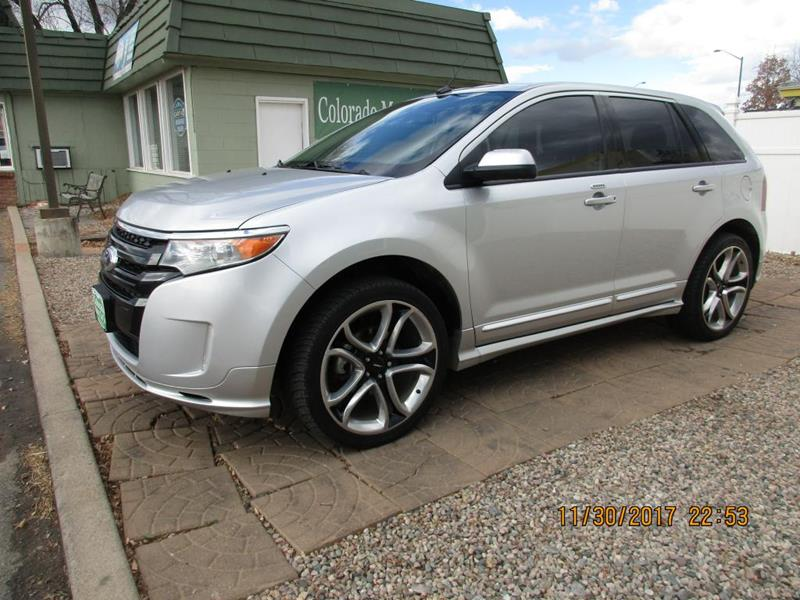 2013 ford edge sport in fort collins co colorado motor car company. Black Bedroom Furniture Sets. Home Design Ideas