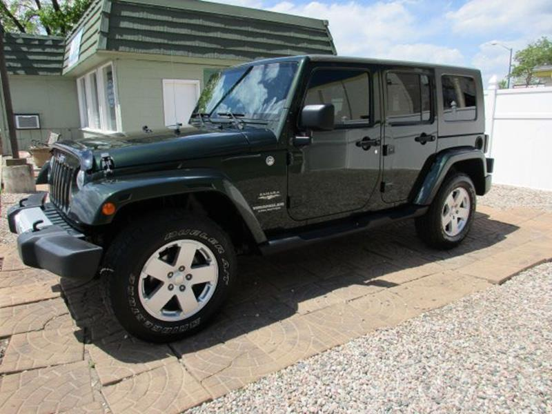 2010 Jeep Wrangler Unlimited For Sale At Colorado Motor Car Company In Fort  Collins CO