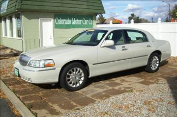 2006 Lincoln Town Car for sale in Fort Collins, CO