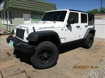 2013 Jeep Wrangler Unlimited for sale at Colorado Motor Car Company in Fort Collins CO