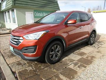 2016 Hyundai Santa Fe Sport for sale at Colorado Motor Car Company in Fort Collins CO