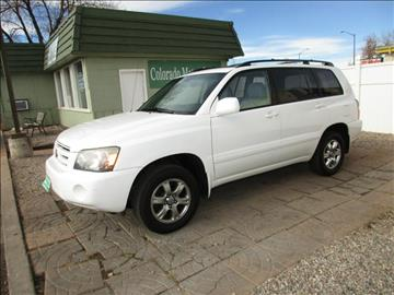 2005 Toyota Highlander for sale at Colorado Motor Car Company in Fort Collins CO