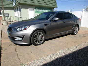 2013 Kia Optima for sale at Colorado Motor Car Company in Fort Collins CO