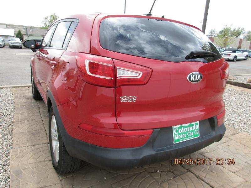 2013 Kia Sportage for sale at Colorado Motor Car Company in Fort Collins CO