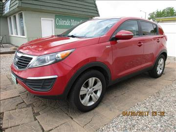 2013 Kia Sportage for sale at Colorado Motor Car Company in Fort Collins CO