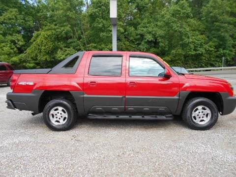 2004 Chevrolet Avalanche for sale in West Liberty, KY