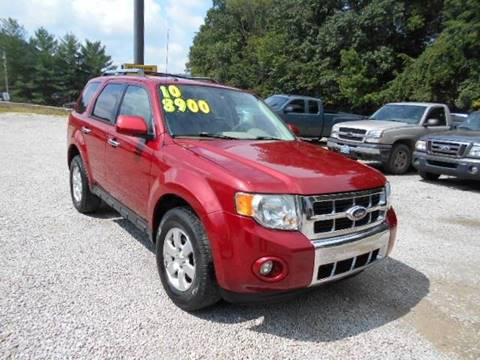 2010 Ford Escape for sale in West Liberty, KY