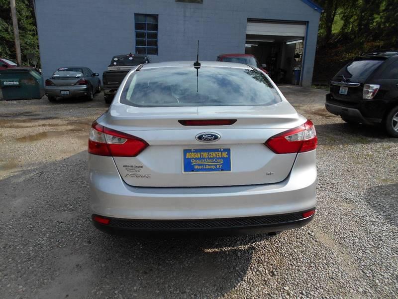 2014 Ford Focus SE 4dr Sedan In West Liberty KY - MORGAN
