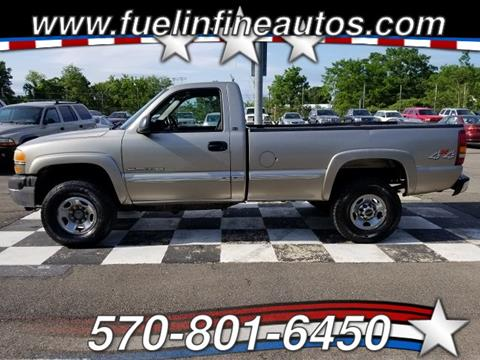2001 GMC Sierra 2500HD for sale in Saylorsburg, PA