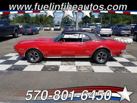 1968 Pontiac Firebird for sale in Saylorsburg, PA