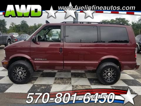 2001 GMC Safari for sale in Saylorsburg, PA