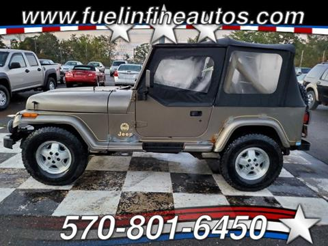 1991 Jeep Wrangler for sale in Saylorsburg, PA