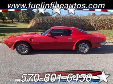 1973 Pontiac Firebird for sale in Saylorsburg, PA