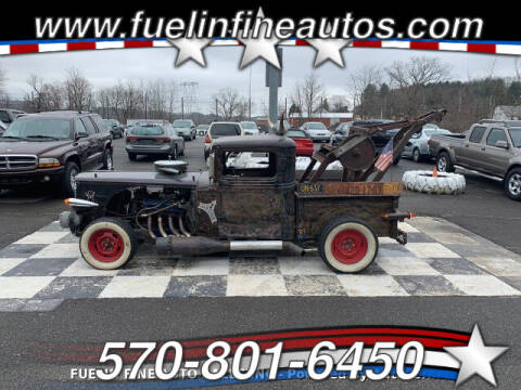 1933 Ford rat rod for sale at FUELIN FINE AUTO SALES INC in Saylorsburg PA