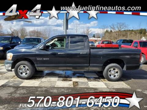 2006 Dodge Ram Pickup 1500 ST for sale at FUELIN FINE AUTO SALES INC in Saylorsburg PA