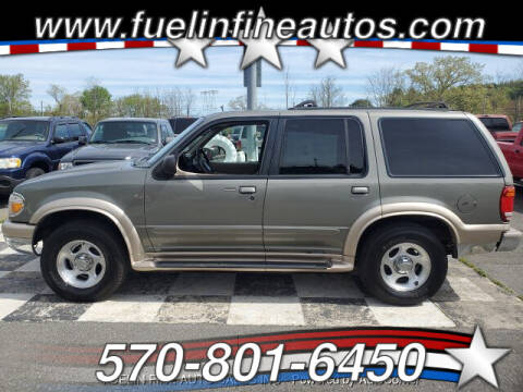 1999 Ford Explorer for sale at FUELIN FINE AUTO SALES INC in Saylorsburg PA