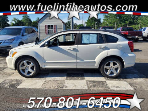 2009 Dodge Caliber for sale at FUELIN FINE AUTO SALES INC in Saylorsburg PA