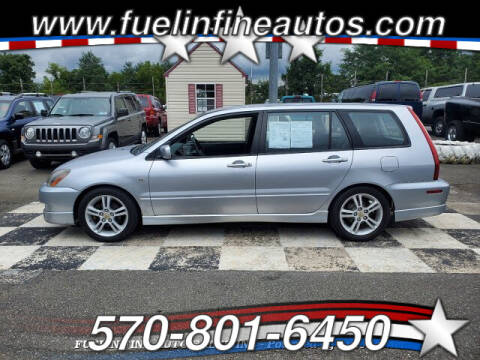 2004 Mitsubishi Lancer Sportback for sale at FUELIN FINE AUTO SALES INC in Saylorsburg PA