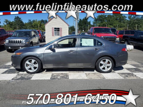 2009 Acura TSX for sale at FUELIN FINE AUTO SALES INC in Saylorsburg PA