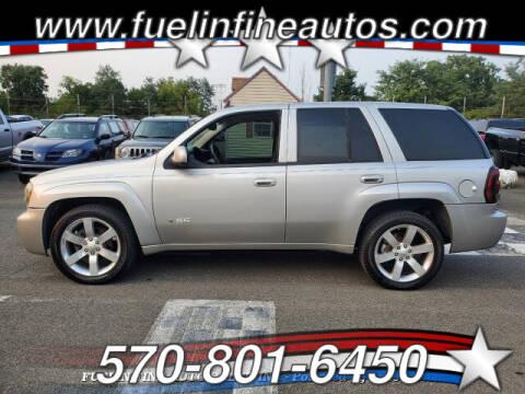 2008 Chevrolet TrailBlazer for sale at FUELIN FINE AUTO SALES INC in Saylorsburg PA