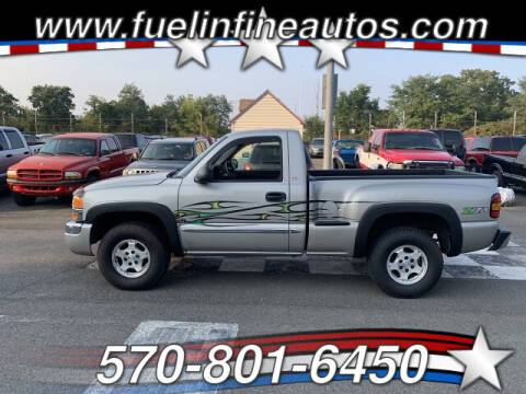 2004 GMC Sierra 1500 for sale at FUELIN FINE AUTO SALES INC in Saylorsburg PA