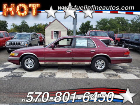 1992 Mercury Grand Marquis for sale at FUELIN FINE AUTO SALES INC in Saylorsburg PA