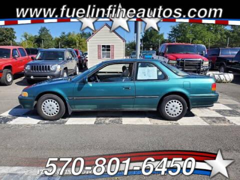 1993 Honda Accord for sale at FUELIN FINE AUTO SALES INC in Saylorsburg PA