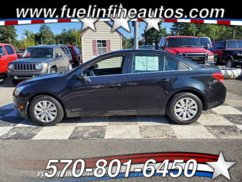 2011 Chevrolet Cruze for sale at FUELIN FINE AUTO SALES INC in Saylorsburg PA