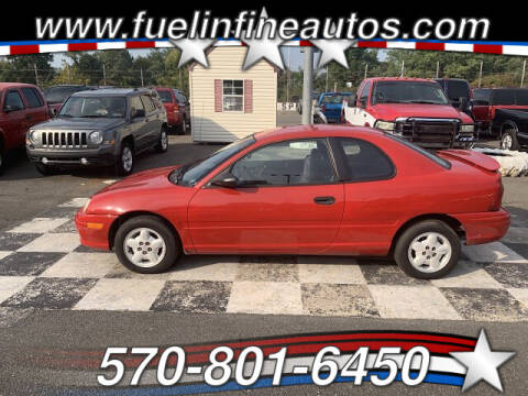 1997 Dodge Neon for sale at FUELIN FINE AUTO SALES INC in Saylorsburg PA