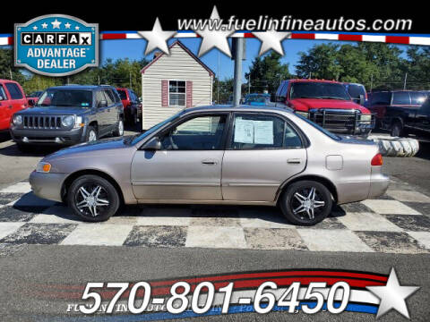 1998 Toyota Corolla for sale at FUELIN FINE AUTO SALES INC in Saylorsburg PA