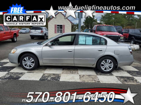2003 Nissan Altima for sale at FUELIN FINE AUTO SALES INC in Saylorsburg PA