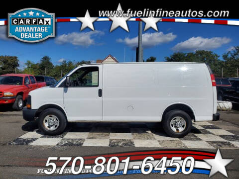 2011 Chevrolet Express Cargo for sale at FUELIN FINE AUTO SALES INC in Saylorsburg PA