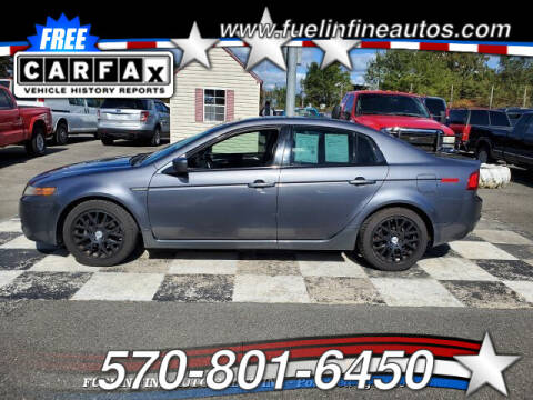 2006 Acura TL for sale at FUELIN FINE AUTO SALES INC in Saylorsburg PA