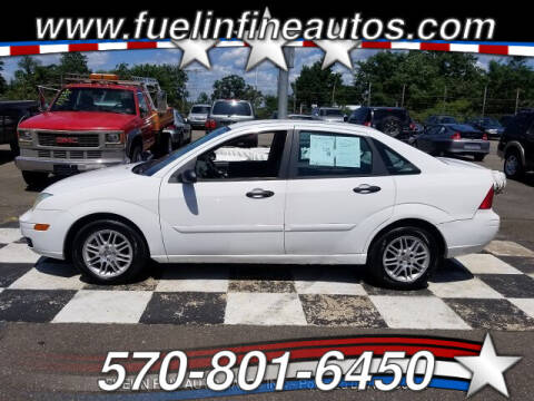 2005 Ford Focus for sale at FUELIN FINE AUTO SALES INC in Saylorsburg PA