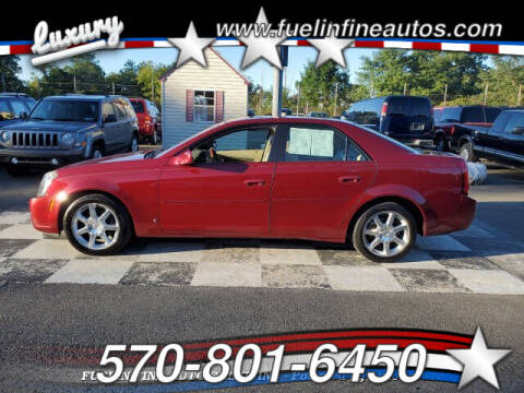 2006 Cadillac CTS for sale at FUELIN FINE AUTO SALES INC in Saylorsburg PA