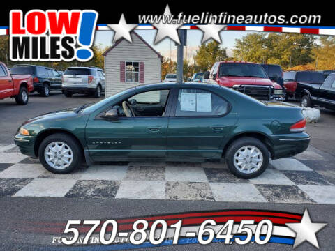 1999 Chrysler Cirrus for sale at FUELIN FINE AUTO SALES INC in Saylorsburg PA