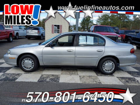 2004 Chevrolet Classic for sale at FUELIN FINE AUTO SALES INC in Saylorsburg PA