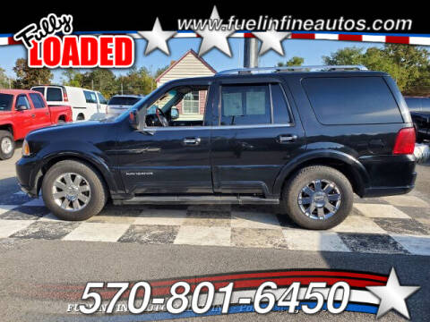 2003 Lincoln Navigator for sale at FUELIN FINE AUTO SALES INC in Saylorsburg PA