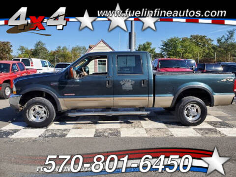 2004 Ford F-250 Super Duty for sale at FUELIN FINE AUTO SALES INC in Saylorsburg PA