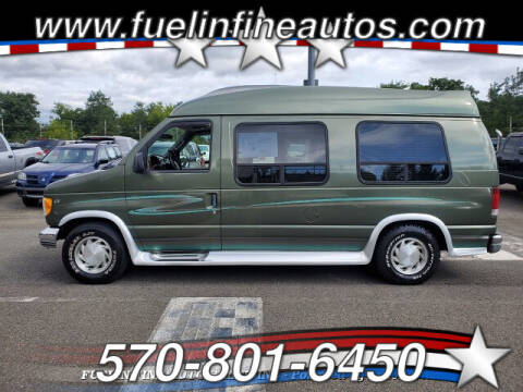 2002 Ford E-Series Cargo for sale at FUELIN FINE AUTO SALES INC in Saylorsburg PA