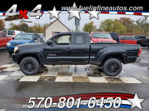2007 Toyota Tacoma for sale at FUELIN FINE AUTO SALES INC in Saylorsburg PA