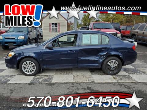 2009 Chevrolet Cobalt for sale at FUELIN FINE AUTO SALES INC in Saylorsburg PA