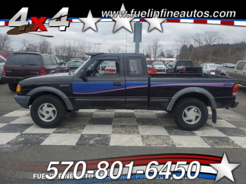 1994 Ford Ranger for sale at FUELIN FINE AUTO SALES INC in Saylorsburg PA