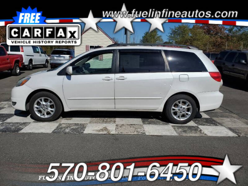 2004 Toyota Sienna for sale at FUELIN FINE AUTO SALES INC in Saylorsburg PA