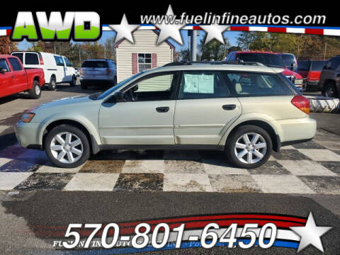 2006 Subaru Outback for sale at FUELIN FINE AUTO SALES INC in Saylorsburg PA