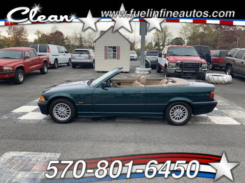 1997 BMW 3 Series for sale at FUELIN FINE AUTO SALES INC in Saylorsburg PA