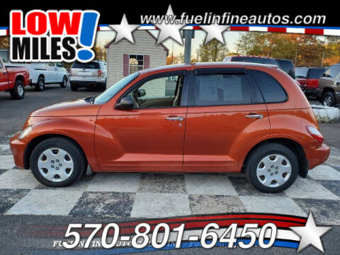 2007 Chrysler PT Cruiser for sale at FUELIN FINE AUTO SALES INC in Saylorsburg PA