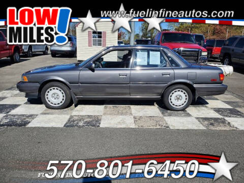 1990 Toyota Camry for sale at FUELIN FINE AUTO SALES INC in Saylorsburg PA