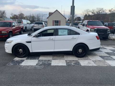 2014 Ford Taurus for sale at FUELIN FINE AUTO SALES INC in Saylorsburg PA